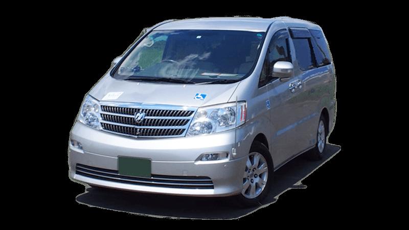 横浜介護タクシー和(なごみ)の介護車両、トヨタアルファード